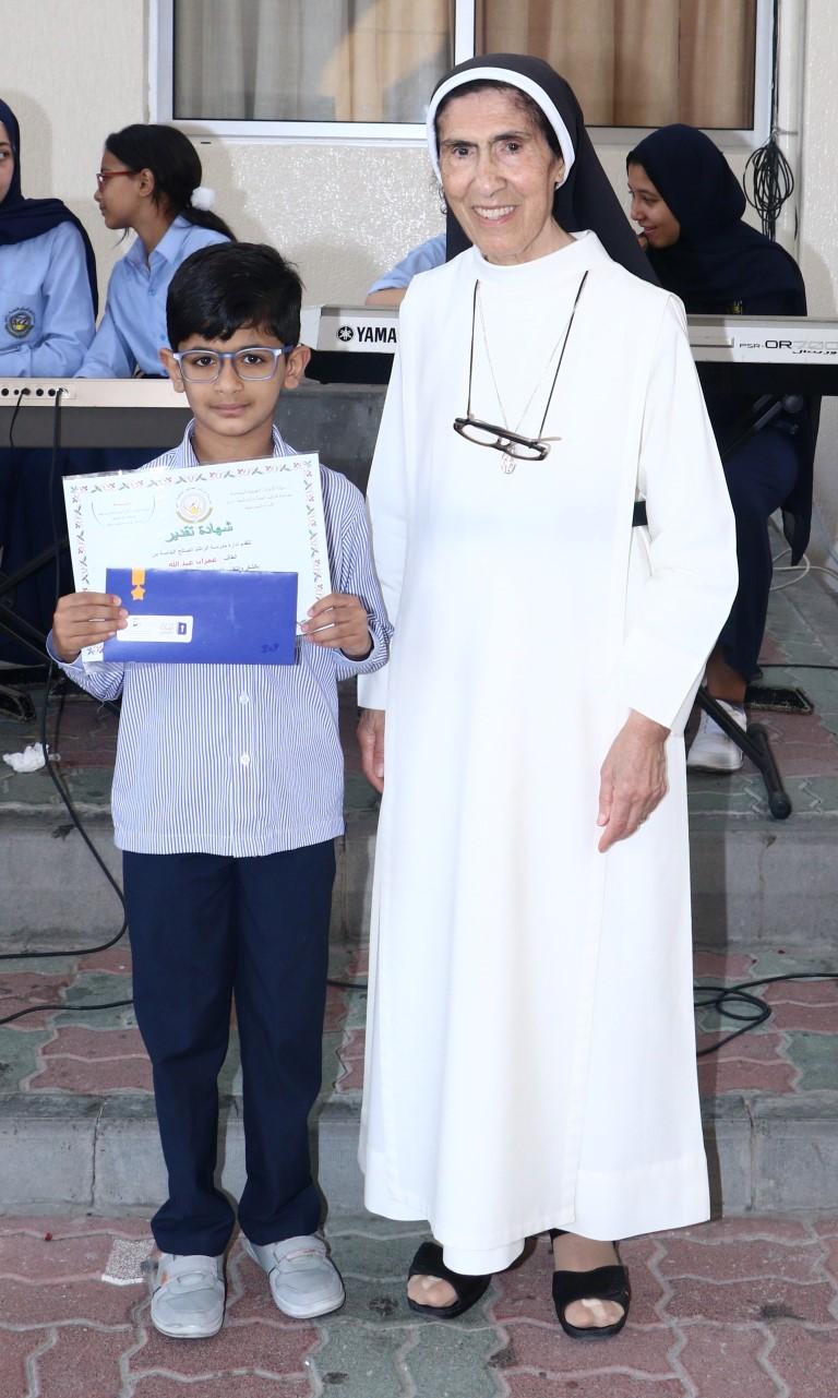 تكريم الطلبة الفائزين بمسابقة تحدي القراءة